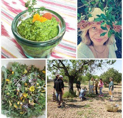 MALLORCA foraging courses //     wild kitchen + cosmetics //   by UTA @mywildgreens